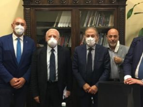 I Presidenti della Campania incontrano il Governatore Vincenzo De Luca
